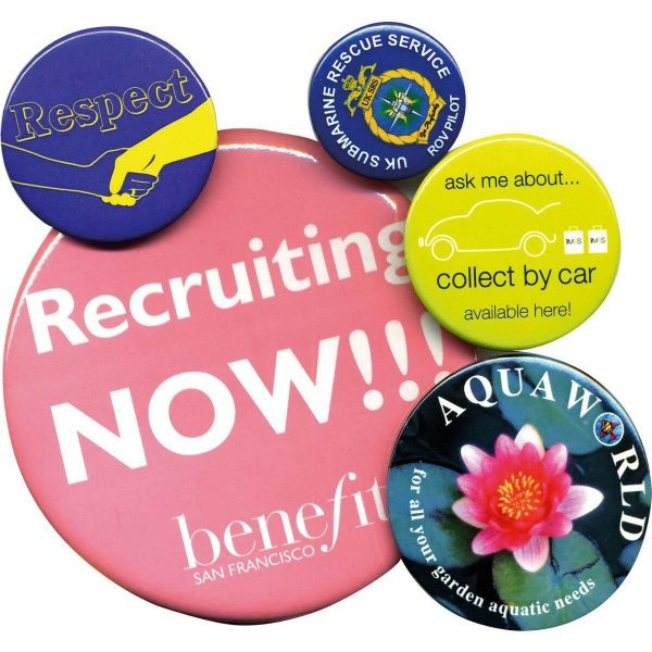 Round Button Badges