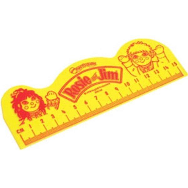 Bespoke Shaped Ruler - 15cm