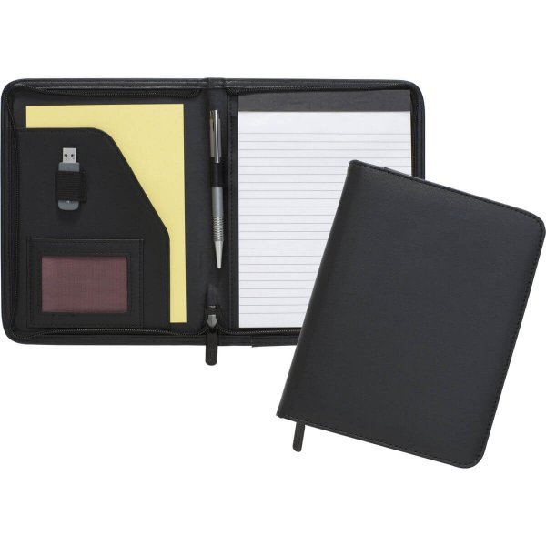 Fern A5 Zipped Folder