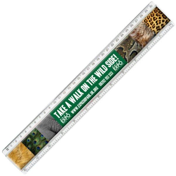 30cm Plastic Insert Ruler