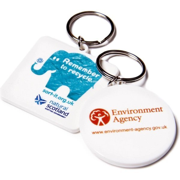 Recycled Plastic Keyring