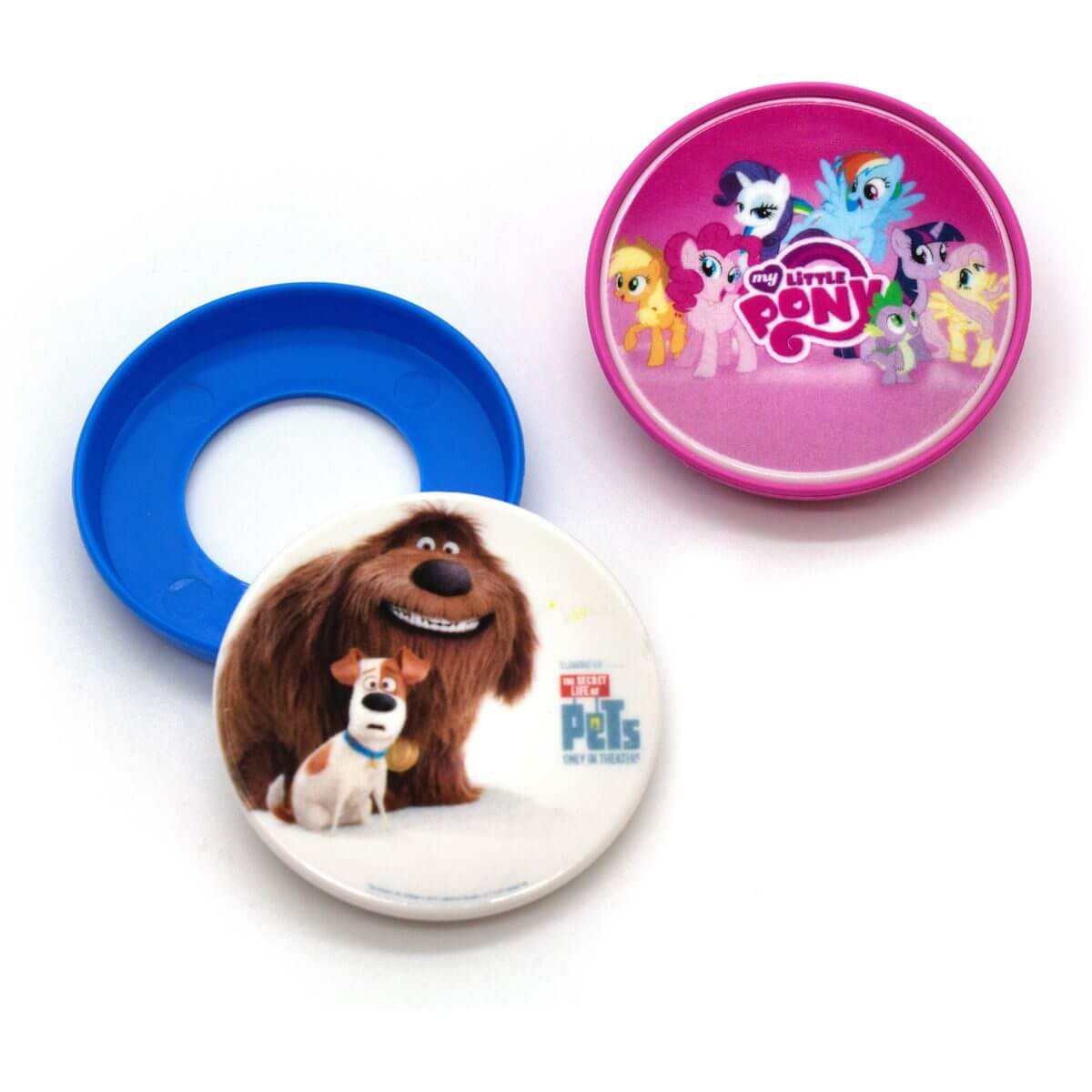 Recycled Child-Friendly Badges