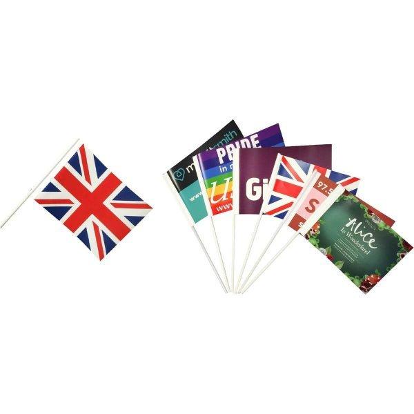 Paper Hand Waver Flag