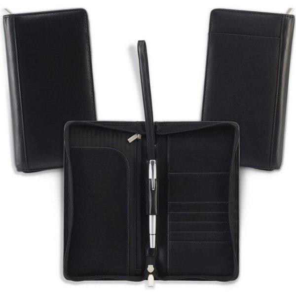 Premium Leather Travel Wallet