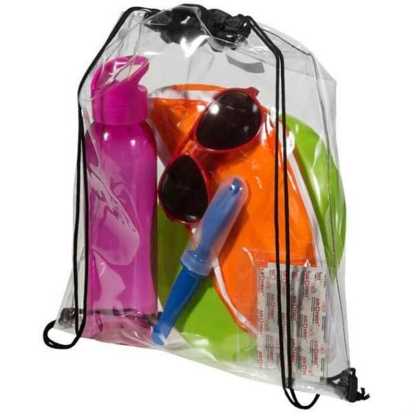 Transparent Drawstring Bag
