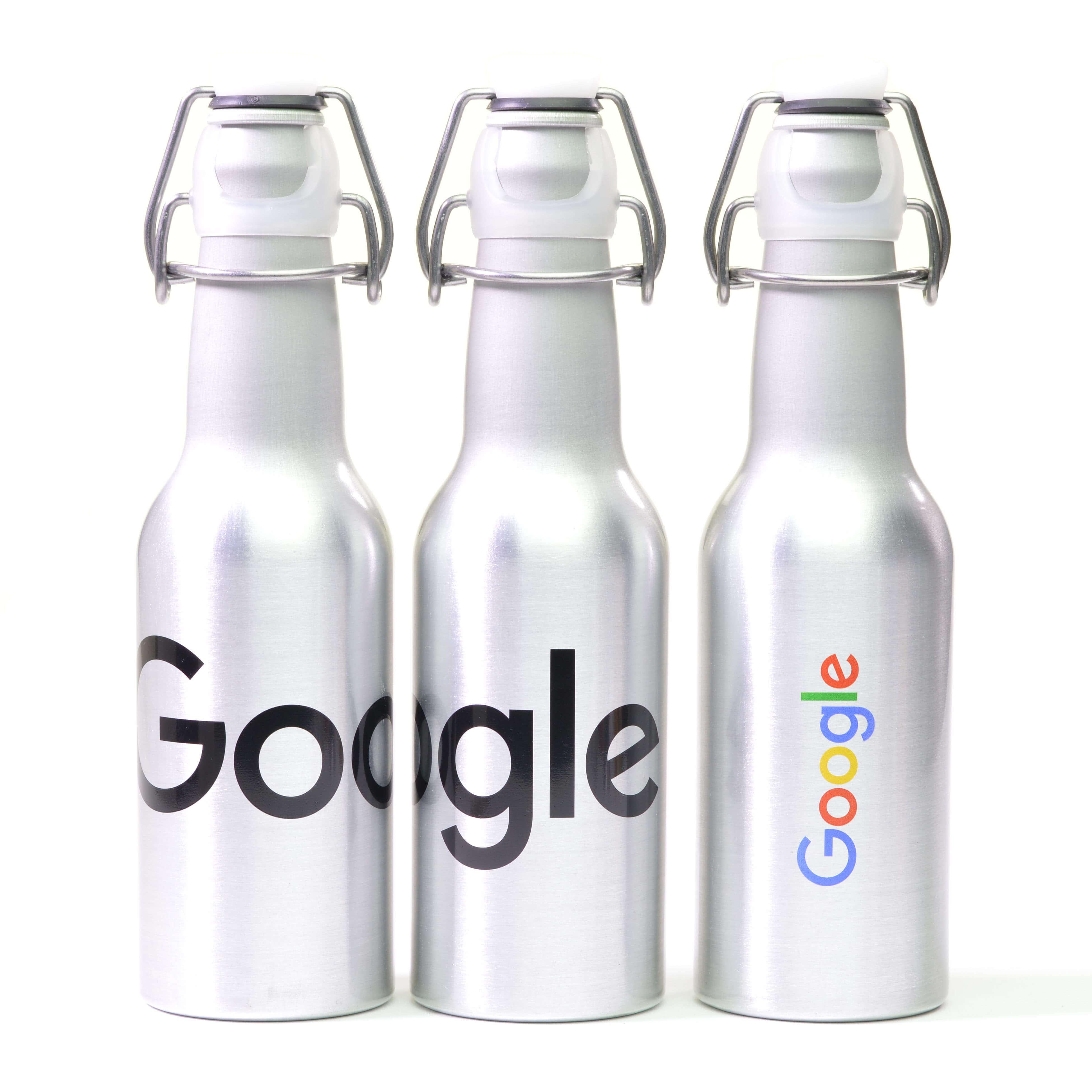 Branded & Promotional Brushed Aluminium Sports Bottle