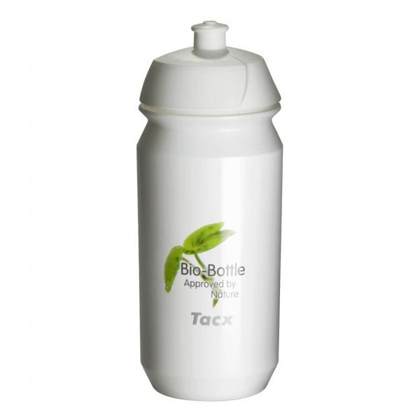 White eco-friendly water bottle