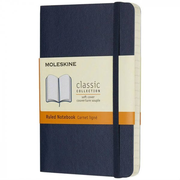 Soft Cover Pocket Moleskine Notebook