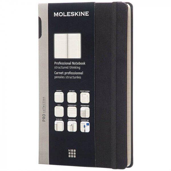 Hard Cover Moleskine Pro Notebook