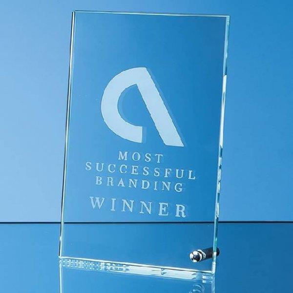 Pin Stand Crystal Awards