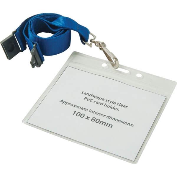 PVC Lanyard Wallet