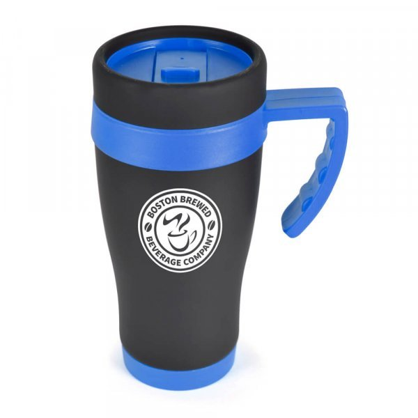 Austin Black Travel Mug