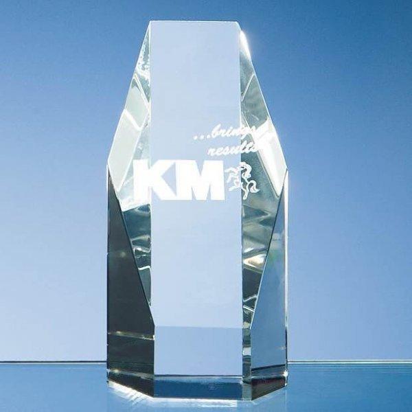 Hexagon Crystal Award