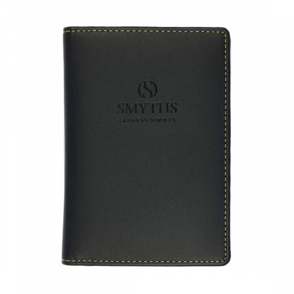 Recycled Leather Passport Wallet