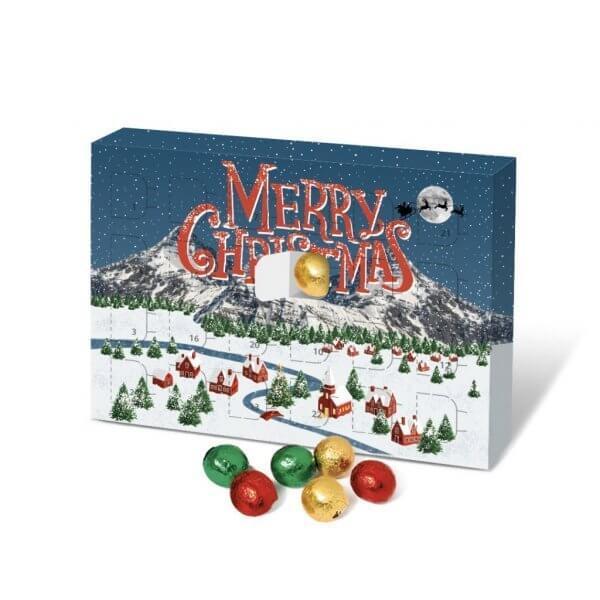 Eco Chocolate Ball Advent Calendar