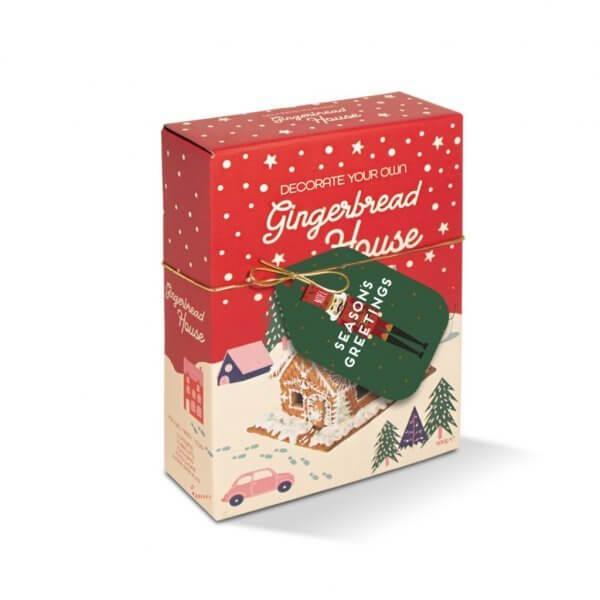 DIY Gingerbread House Box Kit